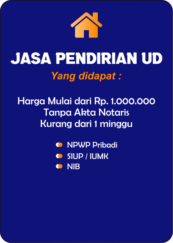 Syarat Pendirian UD Balikpapan