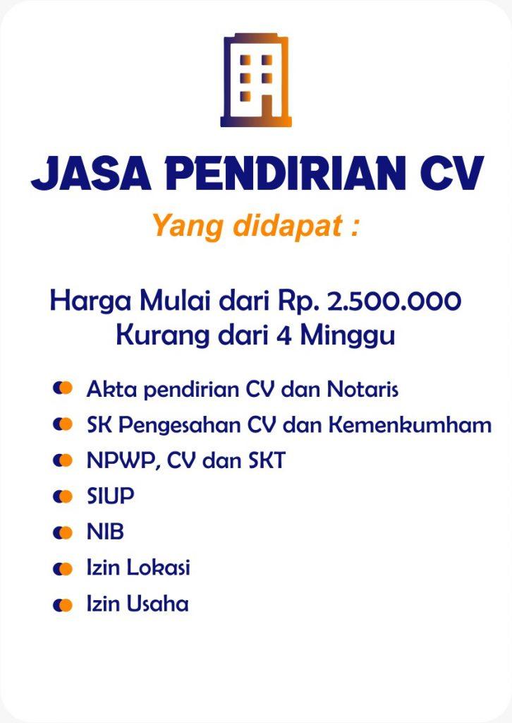 Keuntungan Mendirikan CV Di Pontianak